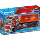 Playmobil: Camion cu container de marfă - 70771