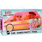 L.O.L. Surprise: Mașinuță de petrecere 3-în-1