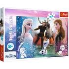 Trefl: Frozen 2. Timpuri magice - puzzle cu 300 de piese