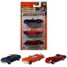 Matchbox: Set de 3 mașinuțe - Blue Highways II
