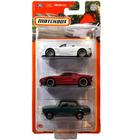 Matchbox: 3 darabos kisautó készlet - Autobahn Express