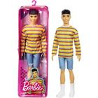 Barbie Fashionista: Păpușă băiat în pulover cu dungi