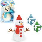 Playfoam® Habgyurma hóember építő játék - többféle