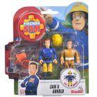 Pompierul Sam: Figurinele Sam și Arnold