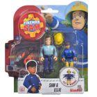 Sam, a tűzoltó: Sam és Ellie figura