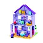 BIG: Bloxx - Peppa malac nagyszülők háza építőjáték - 86 db-os