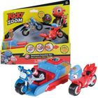 Tomy: Ricky Zoom Set cu lansator și 2 motociclete