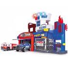 Dickie: Set de joacă Stație de poliție și de pompieri