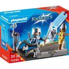 Playmobil: Set cadou cavaleri - 70290