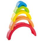 Playgo: Curcubeu - joc de stivuit