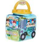 Playgo: Set de plastilină Cafenea și bufet în cutie depozitare cu design mașină