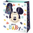 Mickey Mouse: Hello baby Pungă cadou - 11 x 6 x 14 cm