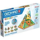 Geomag Supercolor: Recycled - set cu 78 de piese