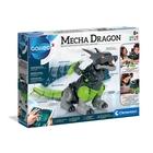 Clementoni: Dragon robot interactiv care trebuie asamblat
