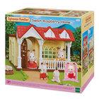 Sylvanian Families: Sweet Raspberry Házikó Csoki nyuszi lánnyal