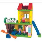 Peppa Pig: Joc de construcție Căsuța de joacă a lui Peppa - 75 de piese