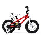 RoyalBaby: FreeStyle bicikli - 12, piros - CSOMAGOLÁSSÉRÜLT