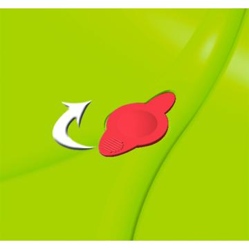 Smoby: Szív alakú spriccelős homokozó, 2 részes - . kép