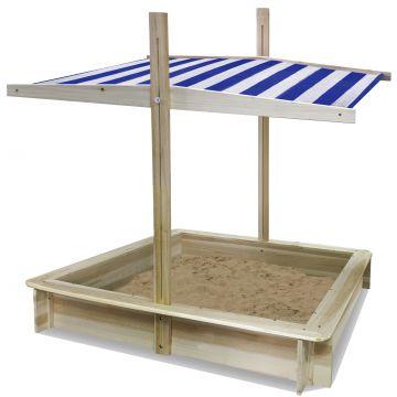 Eichhorn: Cutie din lemn pentru nisip cu copertină - .foto