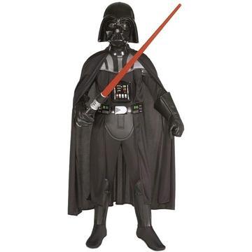 Star Wars: Costum deluxe Darth Vader - mărime S