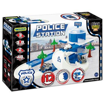 Wader: Rendőrállomás pályaszett járművekkel