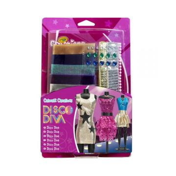 Crayola Creations: Divattervező készlet - többféle - . kép