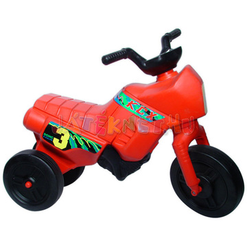 Műanyag motor kicsi- piros
