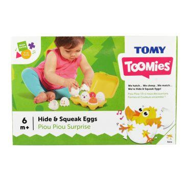 Tomy Bújócskázó tojások bébijáték