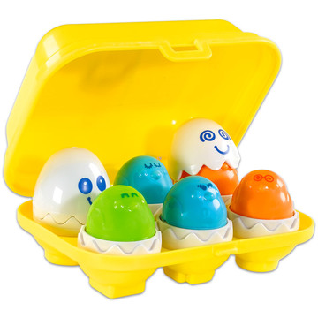 Tomy Bújócskázó tojások bébijáték - . kép