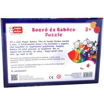 Bogyó si Babóca: Pestele curcubeu - puzzle cu 12 si 20 piese - .foto