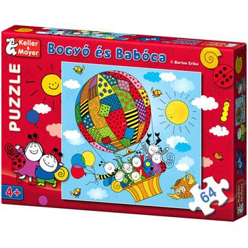 Bogyó és Babóca - 64 db-os puzzle - Léghajó