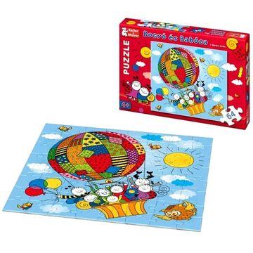 Bogyó és Babóca - 64 db-os puzzle - Léghajó - . kép