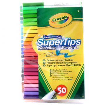 Crayola Kimosható filcek 50 db 58-5050