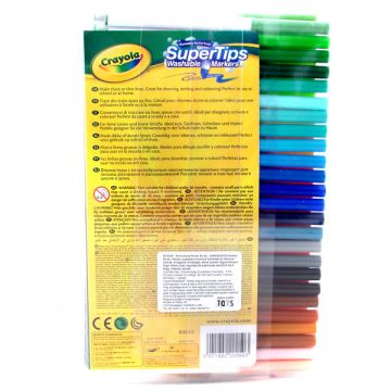 Crayola Kimosható filcek 50 db 58-5050 - . kép