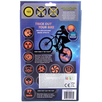 Fuze világító kerékpáros LED monitor - . kép