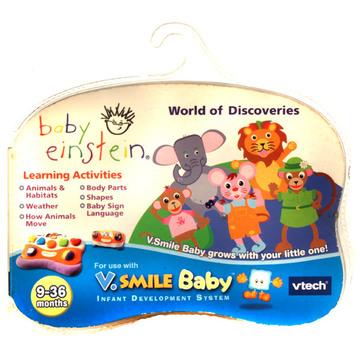 V.Smile Baby Einstein felfedező játék