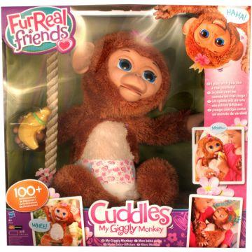 FurReal Friends: Cuddles Giggly, az interaktív majom