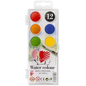 ICO Süni Set acuarele - 12 culori