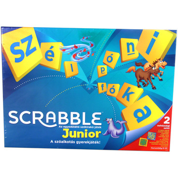 Scrabble Original Junior társasjáték ajándék Scrabble notesszel