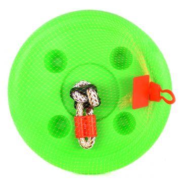Műanyag zöld tányér hinta - . kép