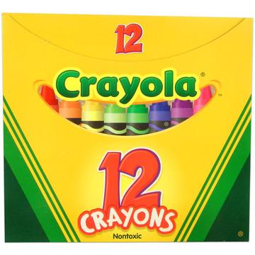Crayola zsírkréta készlet 12 db
