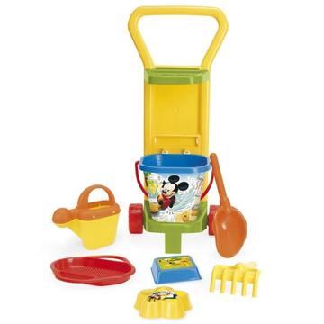 Wader: Mickey egér homokozó készlet kocsin