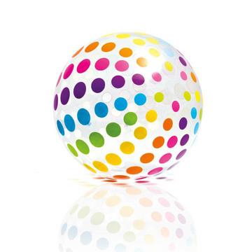 Intex: Óriás színes strandlabda 107 cm - többféle