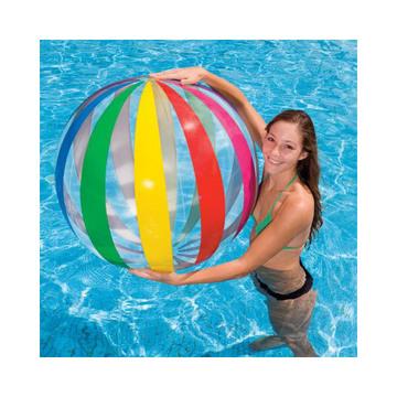 Intex: Óriás színes strandlabda 107 cm - többféle - . kép