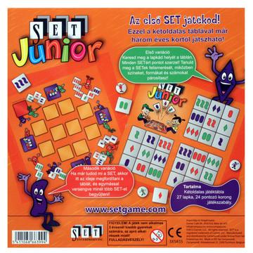 Set Junior társasjáték - . kép