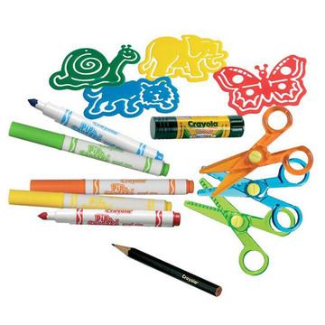 Crayola Állatfigurás kreatív kollázs készlet - . kép