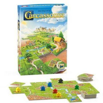 Carcassonne, ediție nouă - joc de societate în lb. maghiară - .foto