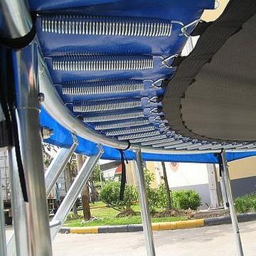 Spartan Trambulină cu plasă de siguranță - 180 cm - .foto