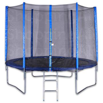 Spartan trambulin védőhálóval és létrával - 250 cm-es