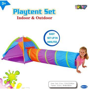 Iplay Cort pentru copii cu tunel - .foto